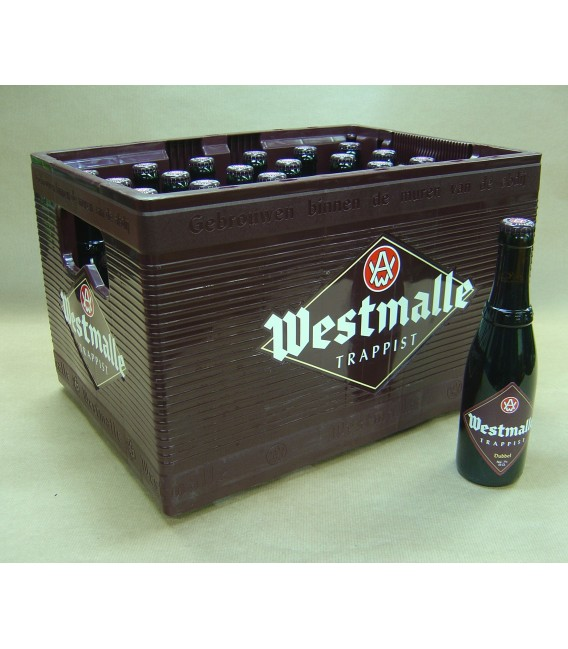 Westmalle Dubbel full crate 24x33cl