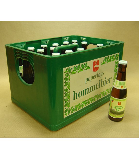 Poperings Hommelbier full crate 24X25cl