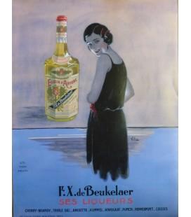 """Elixir d'Anvers Poster """"Ses Liqueurs"""""""