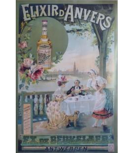 """Elixir d'Anvers Poster """"Scheldezicht"""""""