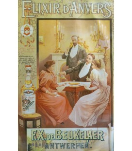 "Elixir D'Anvers Poster ""2 Couples"""
