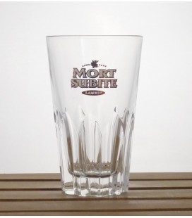Mort Subite Gueuze-Lambic (10-ribbed-gold logo) Glass (vintge) 33 cl