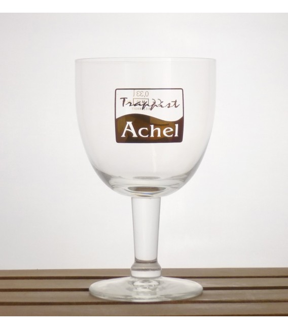 Achel Trappist Glass (Gold lettering) 0.33 L