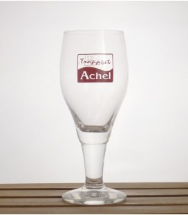 Achel Trappist Tulip Glass (red lettering) 25 cl
