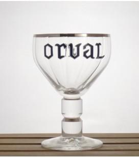Orval Trappist Glass Sliver Rim 33 cl