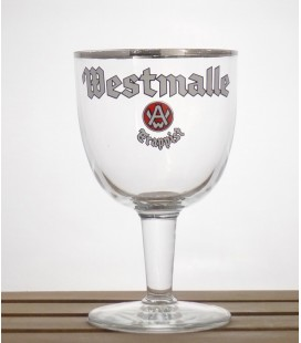 "Westmalle Trappist Glass ""White Lettering"" 33 cl"