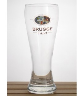 Brugse/Brugge Tripel (n°3) Glass (vintage) 33 cl