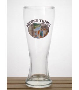 """Brugse/Brugge Tripel Vintage Glass """"N° 4"""" 33 cl"""