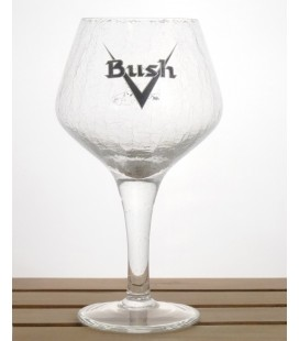 Bush (V cracked-look) Glass 33 cl