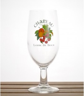 De Troch Chapeau Fruit lambic glass 25 cl