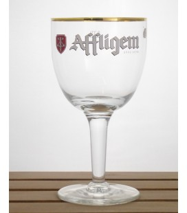 Affligem (golden rim n°1) Glass (vintage) 33 cl