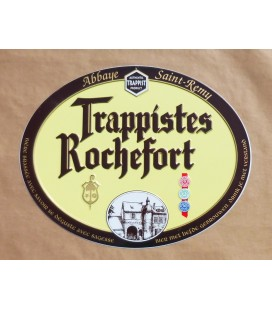 Rochefort Trappistes Beer-Sign in Tin-Metal