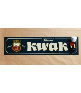 Kwak Beer-Sign with Kwak Glass (gel-filled)