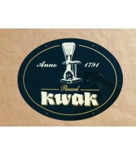 Kwak Beer-Sign (in metal)