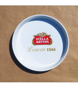 Stella Artios Beer tray metal