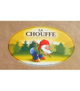 La Chouffe Beer-Sign in Tin-Metal
