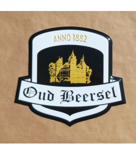 Oud Beersel Beer-Sign in Tin-Metal