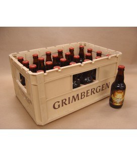 Grimbergen Dubbel full crate 24 x 33 cl