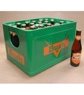 Bush Amber full crate 24 x 33 cl