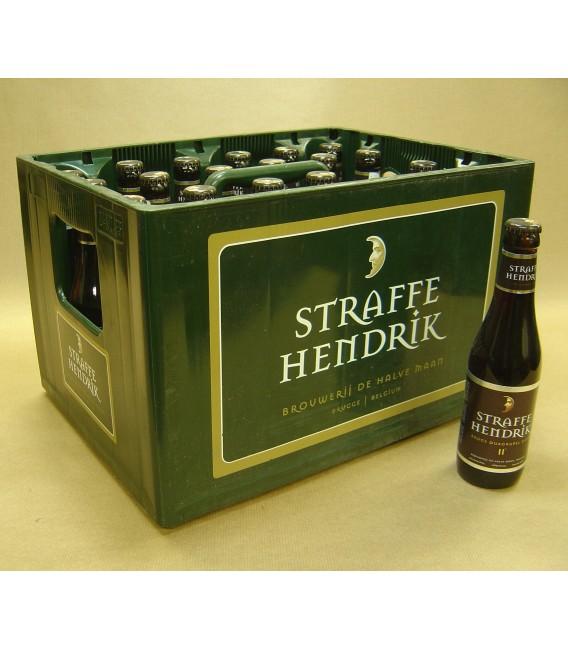 Brugse Straffe Hendrik Quadruppel 11° full crate 24 x 33 cl