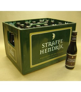 Straffe Hendrik Quadrupel 11% full crate 24 x 33 cl