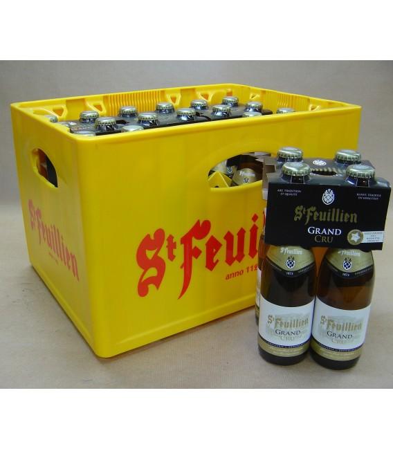 St Feuillien Grand Cru Full crate 24 x 33 cl