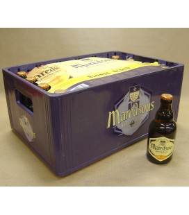 Maredsous 6% Blond full crate 24 x 33 cl