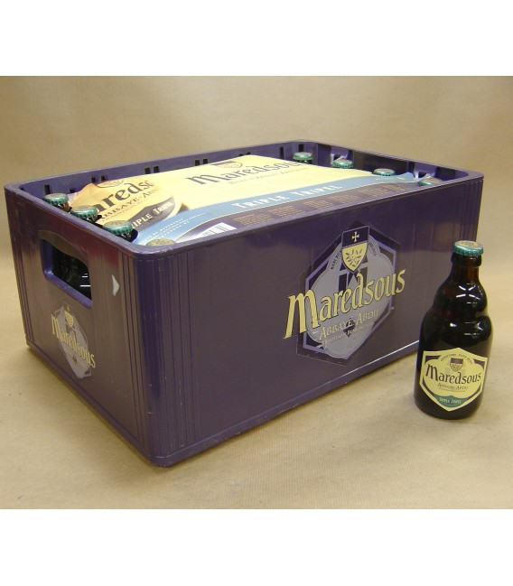 Maredsous 10% Triple full crate 24 x 33 cl
