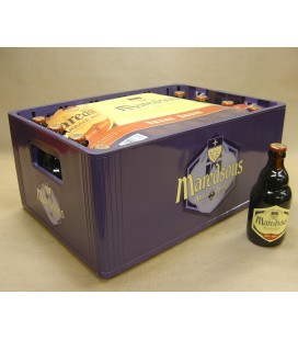 Maredsous 8% Brown full crate 24 x 33 cl