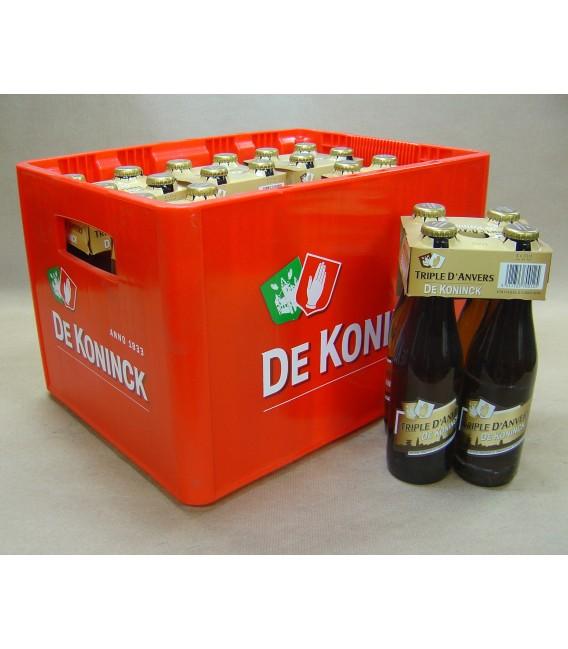 De Koninck Triple d'Anvers Full crate 24 x 33 cl
