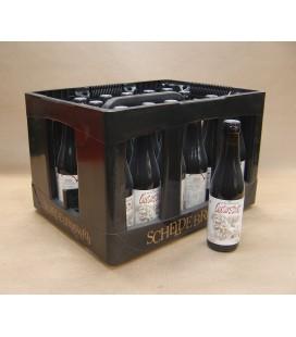 Scheldebrouwerij Oesterstout Full crate 24 x 33 cl