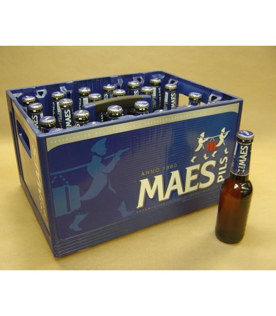 Maes Pilsener Full crate 24 x 33 cl