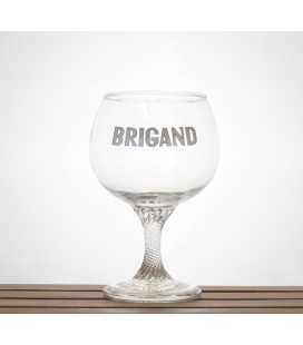 Brigand (white lettering) Glass 33 cl