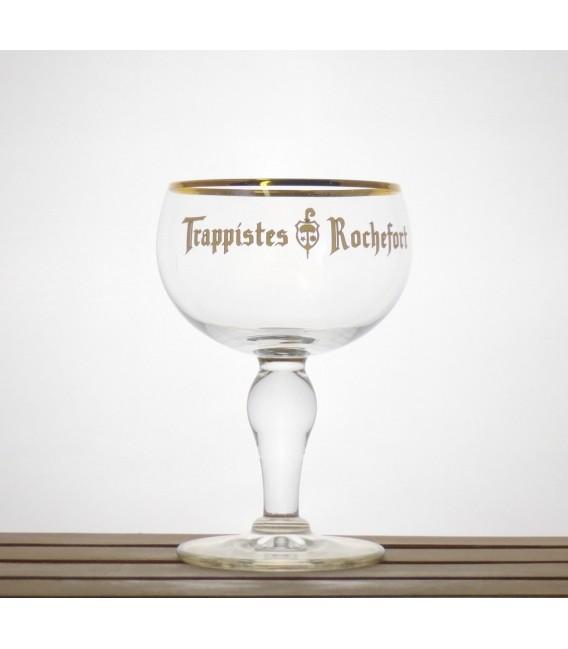 Rochefort Trappist Glass Egg-white lettering 2013 0.33 L