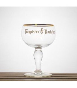 Rochefort Trappist Glass Egg-white lettering 2013 0.33 L