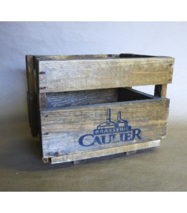 Brasserie Caulier Beer-Crate in Wood