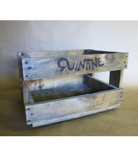 Quintine beer-crate in wood
