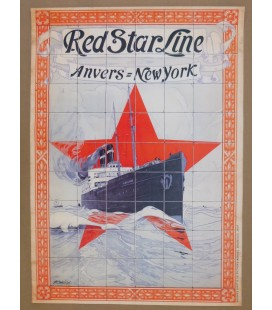 Red Star Line Poster N° 1