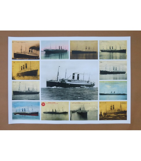 Red Star Line Poster N° 2