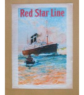 Red Star Line Poster N° 3