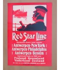 Red Star Line Poster N° 4