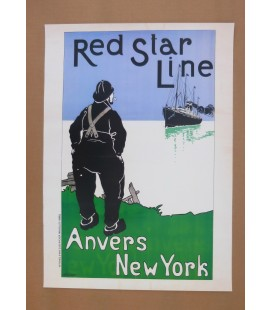 Red Star Line Poster N° 6