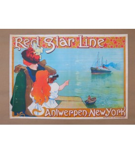 Red Star Line Poster N° 7