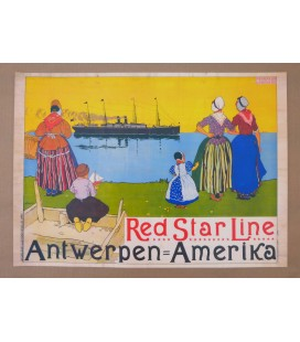Red Star Line Poster N° 8