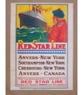 Red Star Line Poster N° 9
