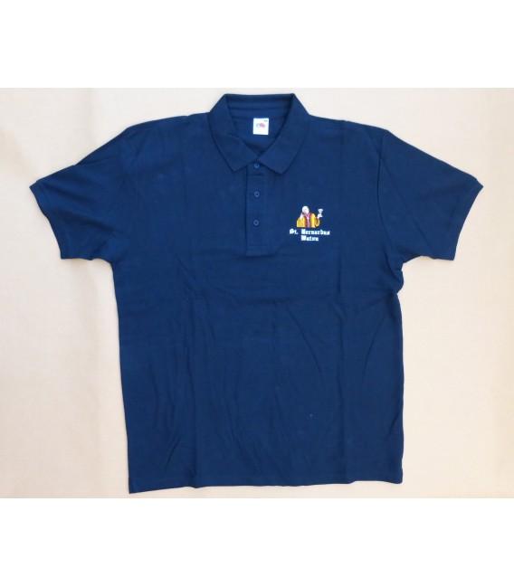 St. Bernardus T-poloshirt short sleeve bleu size XL