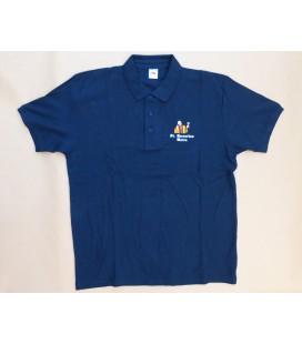 St Bernardus T-Poloshirt Short Sleeve Blue Size XL