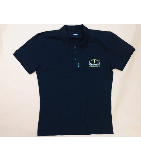 Lindemans T-Poloshirt short sleeve black size XL