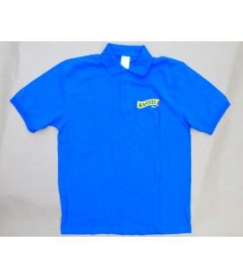 Kasteel T-Poloshirt short sleeve bleu size M