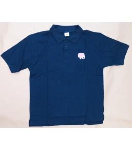 Delirium T-poloshirt short sleeve bleu size L